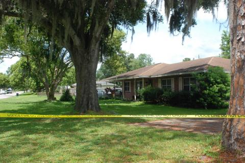 Deputies shot and killed Samuel Thomas Kirk, 26, at 458 Riverview Dr. in the early hours of Thursday morning. Deputies had been called to the home after a neighbor reported an altercation.