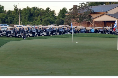 The Wekiva Golf Club (above) is still operational and profitable, but could also secure a permanent green space for the county.