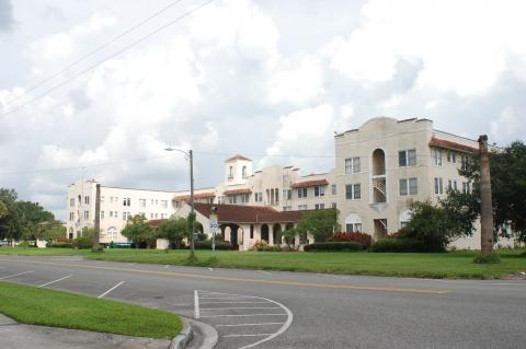 At the Monday meeting commissioners will hear an update on the Mayfair Hotel (above) from Key Performance Hospitality.