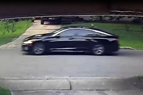 Sanford police are seeking anyone with information about a 4-door black sedan that may have been on Hays Drive on Thursday.